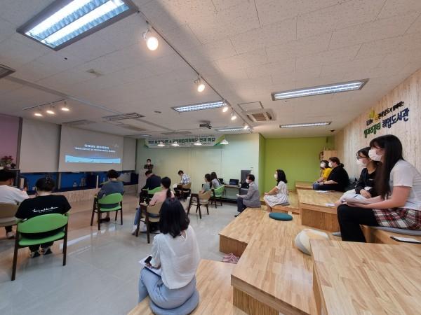 210830) 녹색에너지연구원,「취업토크콘서트 및 국민취업지원제도 연계 특강」 개최 1번째 이미지
